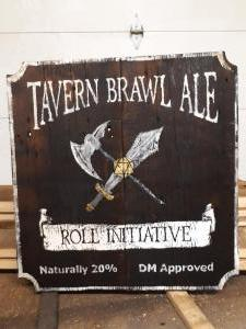 Tavern Brawl Ale Sign