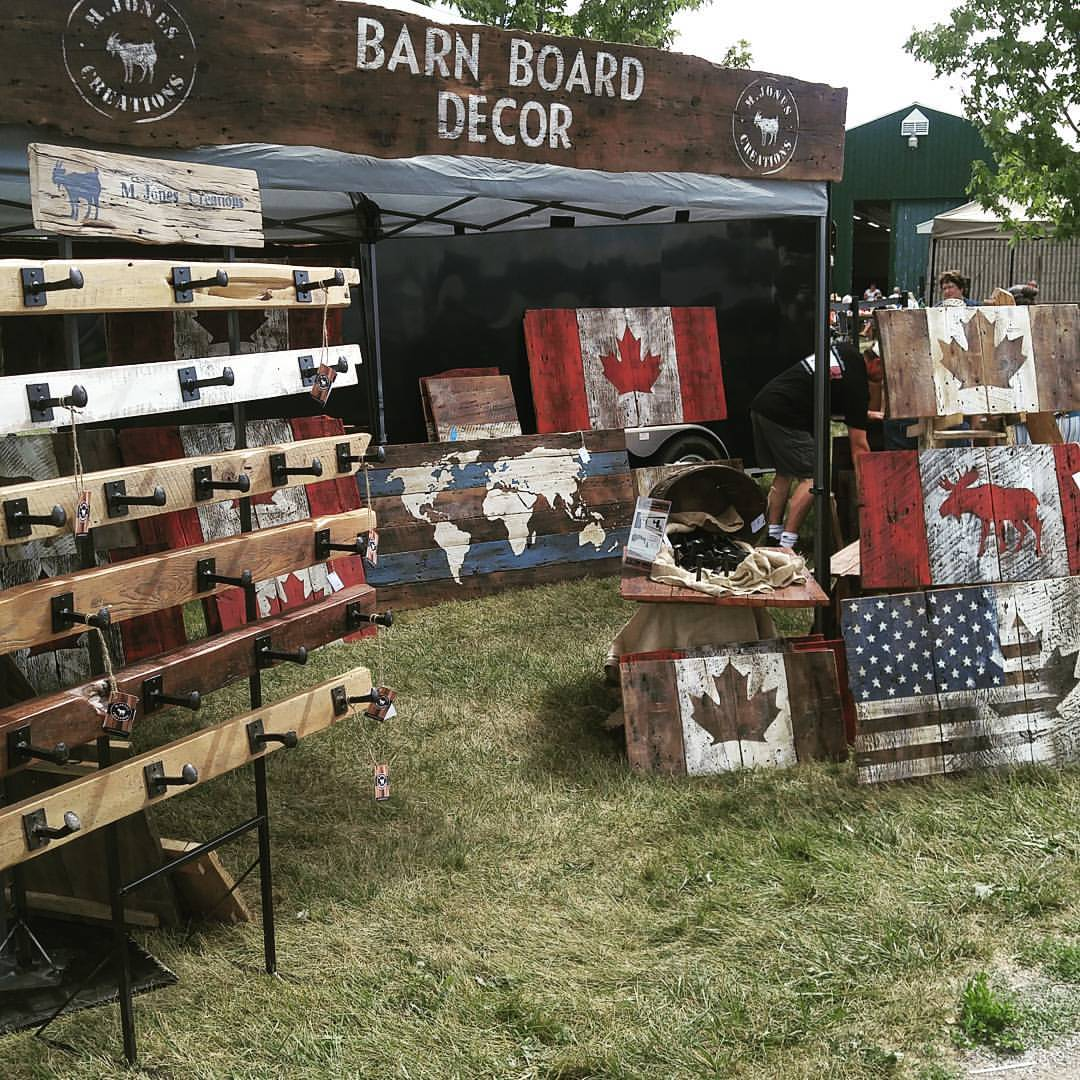 M. Jones Creations at Art in the Barn