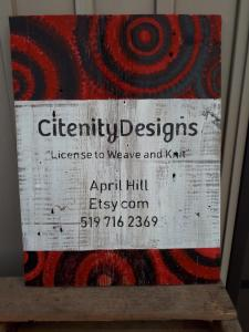 Citenity Designs rustic business signs on barnboard