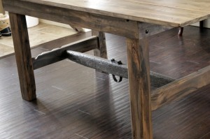 Grey Barn Board Table