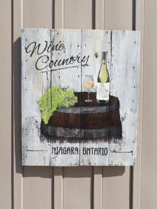 Wine Country Tavern Sign